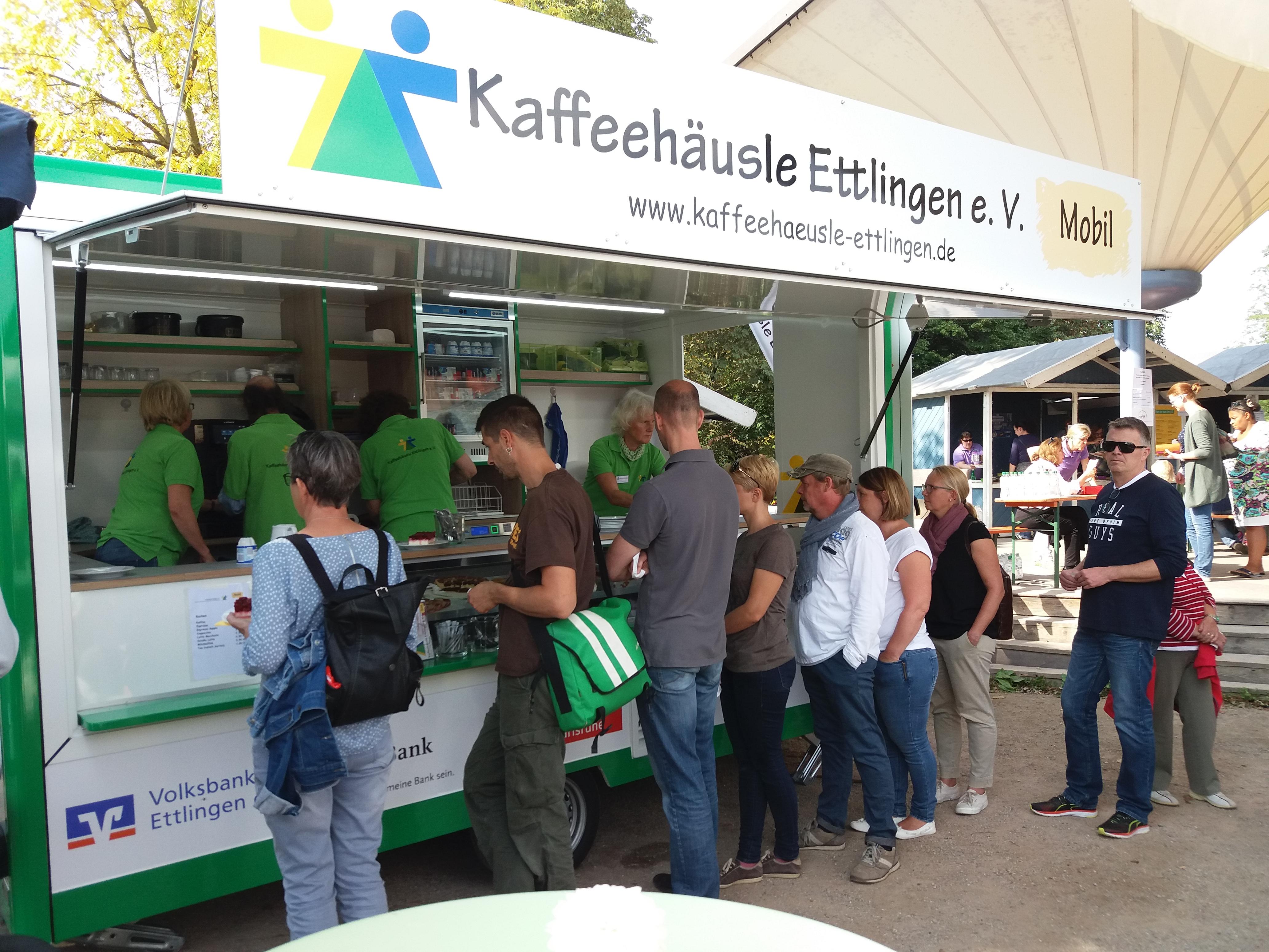 Kaffeehäusle Mobil zum Kinderfes im Horbachpark im September 2017